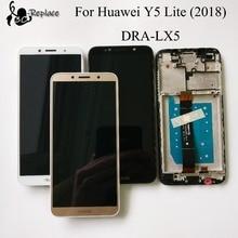 100% Kiểm Tra 5.45 inch Đối Với Huawei Y5 lite (2018) DRA LX5 Đầy Đủ LCD Hiển Thị + Màn Hình Cảm Ứng Digitizer Lắp Ráp Với Khung