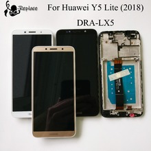 100% Tested 5.45 inch For Huawei Y5 lite ( 2018 ) DRA LX5 Full LCD DIsplay + Touch Screen Digitizer Assembly With Frame