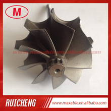Td04hl 45.65x52 ملليمتر 9 شفرات turbocharger turbo التوربينات رمح/توربو عجلة/توربو رمح
