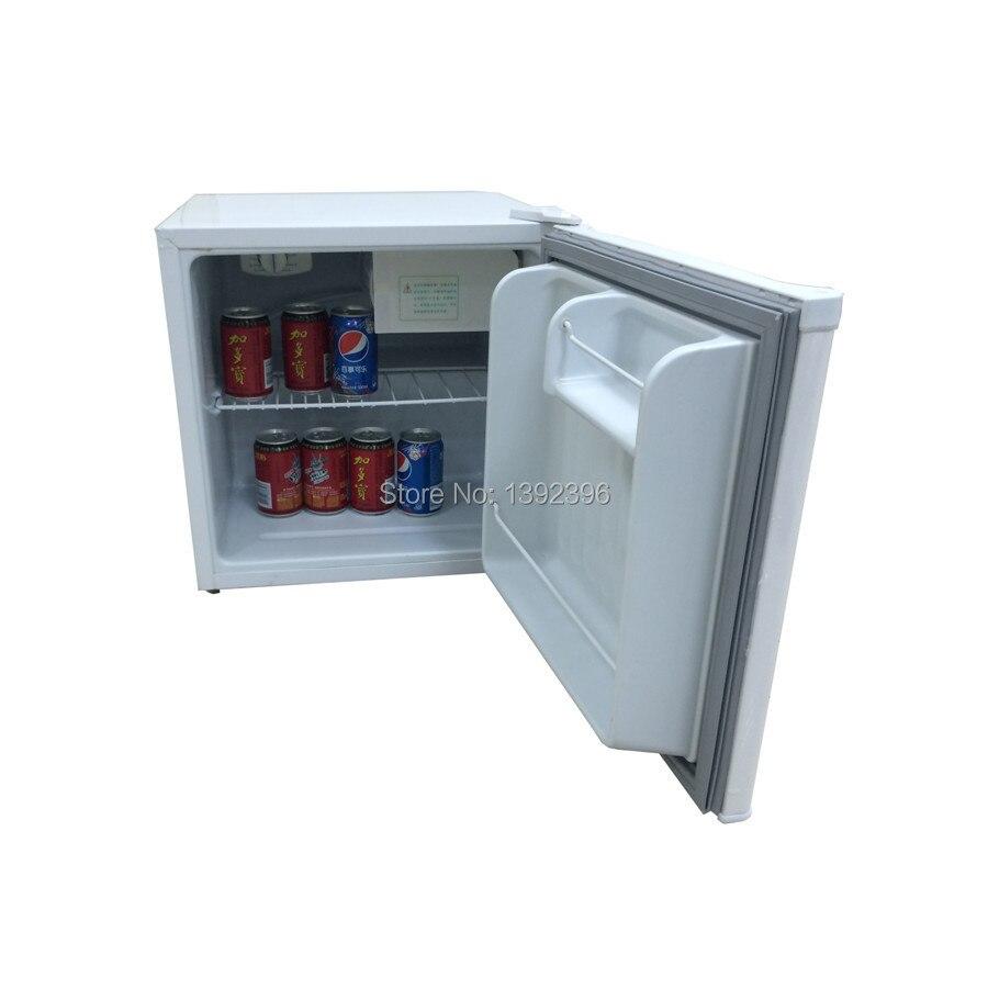 Solar Powered Mini Fridge 50l Solar Compressor Fridge Dc 12v Or 24v Portable Ice Chamber
