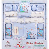 Утолщенная хлопковая одежда для новорожденных с кроликом редиской; осенние комплекты для новорожденных; одежда для мам и младенцев с полно...