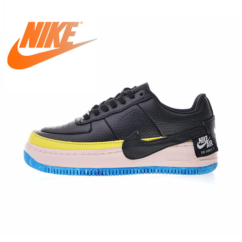 Original Authentic Nike Air Force Wmns AF1 JESTER XX Women's Breathable Skateboarding Shoes Sneakers Good Quality AT2497-002