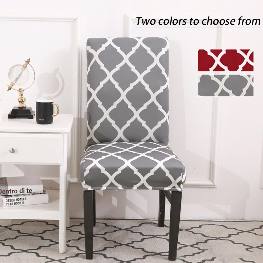 Sensational 6Pcs Nordic Geometric Elastic Chair Set Home Hotel Chair Set Onthecornerstone Fun Painted Chair Ideas Images Onthecornerstoneorg