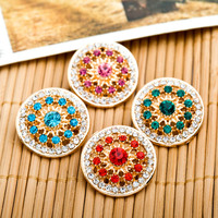 12pcs Unique Hollow Magnetic Brooch Strong Magnet Hijab Brooch For Women New Fashion safety Muslim Clasps Brooch Buttons Female