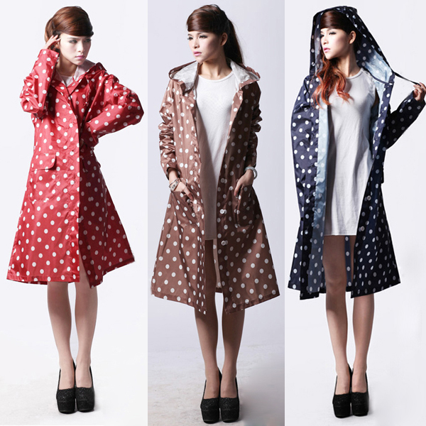 Aliexpress.com : Buy Hot Sale Dot Cute Womens Raincoats Outdoor ...
