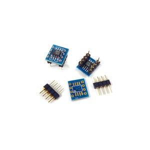 Image 2 - SOP8 Patch Einzel op amp umwandlung DIP8 dual Betriebs verstärker DIY Gold überzogene schweißen bord IC chip transformation bord