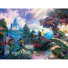Prince and princess diamond Embroidery diy painting mosaic diamant 3d cross stitch pictures H647