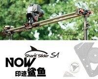 IFootage углеродного волокна Акула слайдер S1 1350 мм слайдер камера видео Долли трек Портативный dslr слайдер DSLR видеокамеры профессиональные