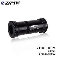 ZTTO BB86 24 мм BB92 BB90 пресс подходят нижние кронштейны резьбовой замок для дорожного велосипеда горный велосипед 24 вала коленчатая цепь