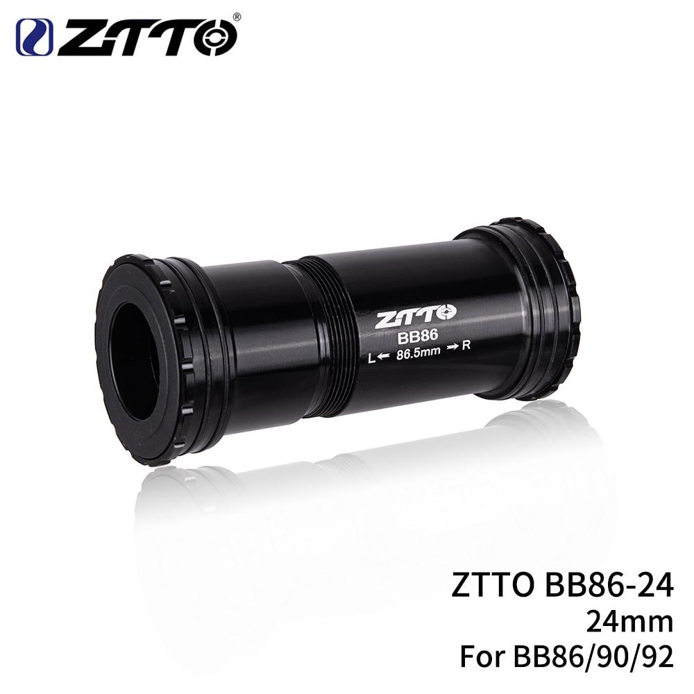ZTTO BB86 24mm BB92 BB90 Press Fit Bottom Brackets Thread lock for Road Bicycle Mountain bike 24 shaft Crankset chainset