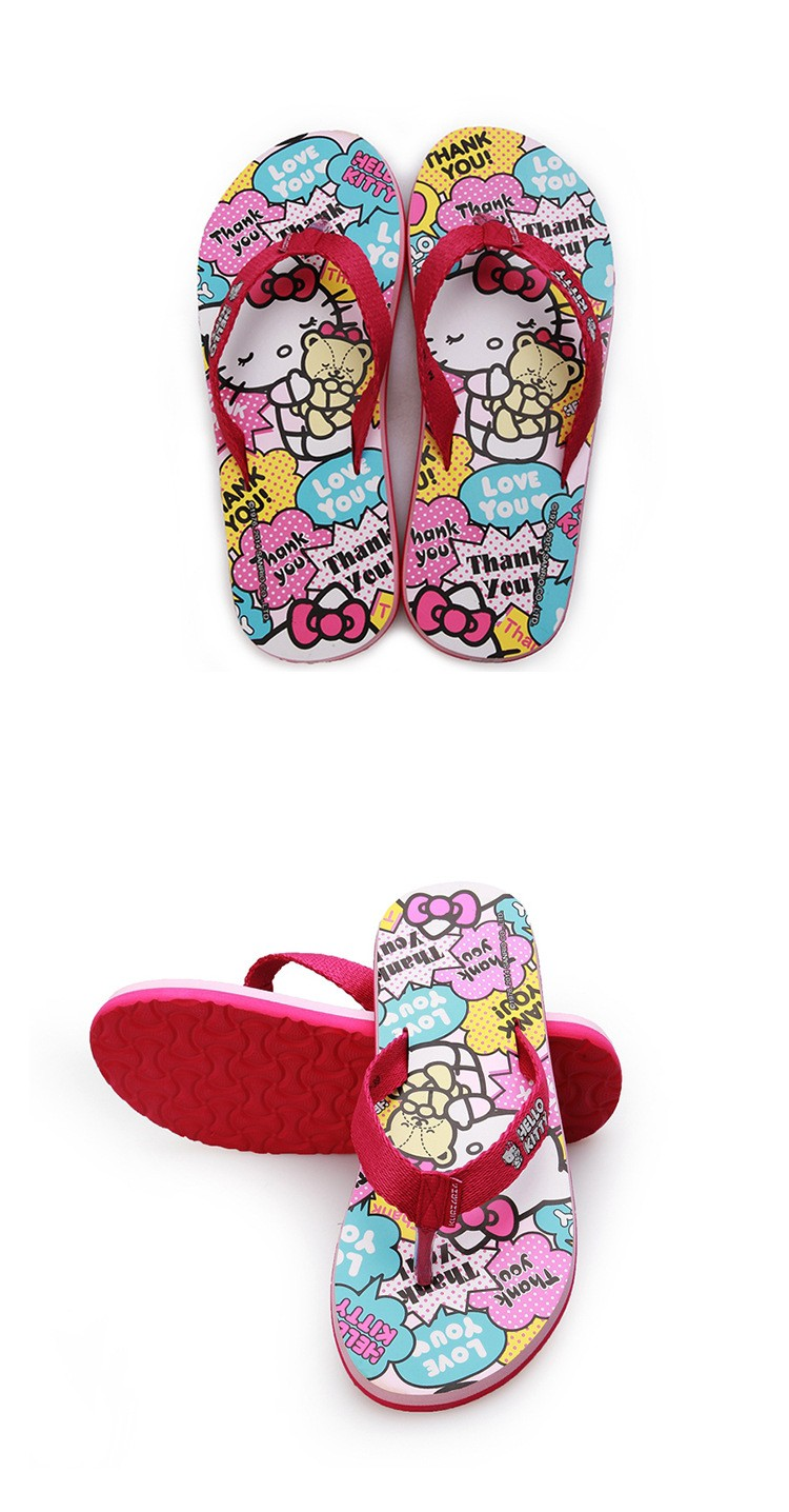 Hello Kitty Flip-Flops 9