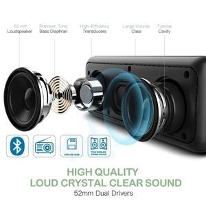 Image 3 - ポータブルワイヤレス Bluetooth スピーカーミニ最高の多機能屋外ステレオ 3d ステレオ音楽サラウンドサポート Tf Usb Pk アンカー