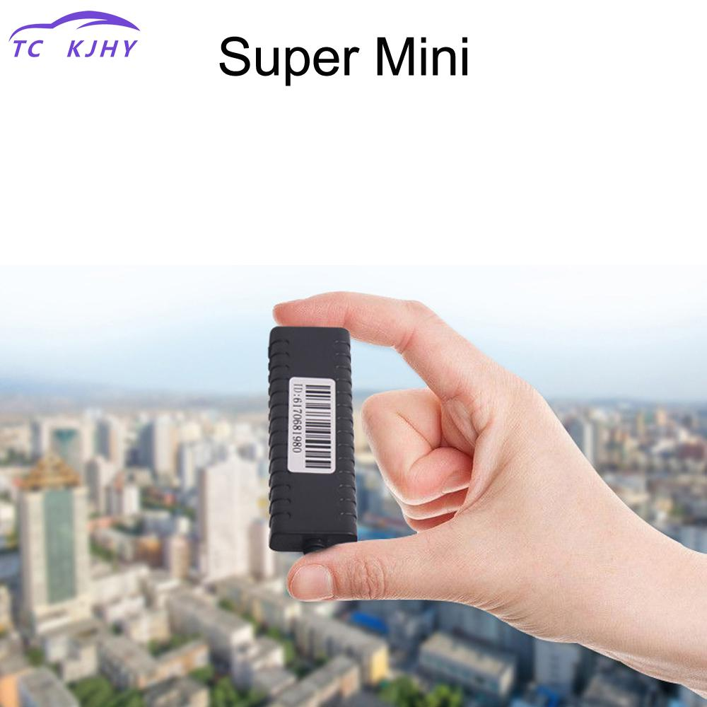 2018 Micro Gps Tracking Mini Gps Tracker Vehicle Real Time Tracking Global Satellite Locator Built-in Battery Sos Alarm Display mini portable gps locator real time tracker sos communicator with lanyard for car person