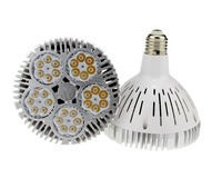 High power E27 E26 led spotlight bulb 50w par38 led light Osram leds Par38 spotlight AC85 265V
