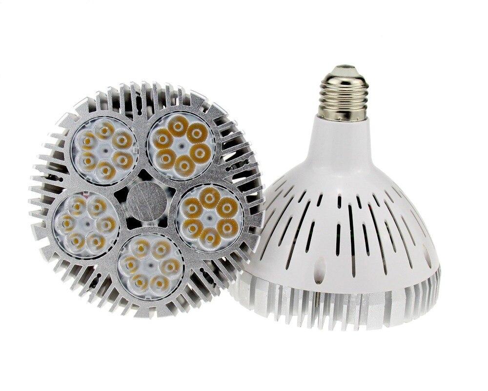 La puissance élevée E27 E26 a mené l'ampoule de projecteur 50 w par38 lumière led Osram a mené le projecteur Par38 AC85-265V