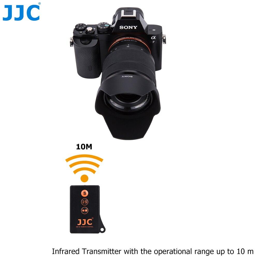 JJC IR Drahtlose Fernbedienung Video Aufnahme Controller für SONY A7III/A7RIII A6000/A7R/A7II/A99 kamera RMT-DSLR1/RMT-DSLR2