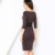 Xadrez vestidos mulheres nova moda 2016 desgaste do trabalho de escritório bodycon dress roupas femininas elegante o pescoço das senhoras do estiramento verão dress
