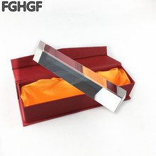 FGHGF Prism large 180 * 40 optical glass dichroic prism rainbow refraction principle experiment science