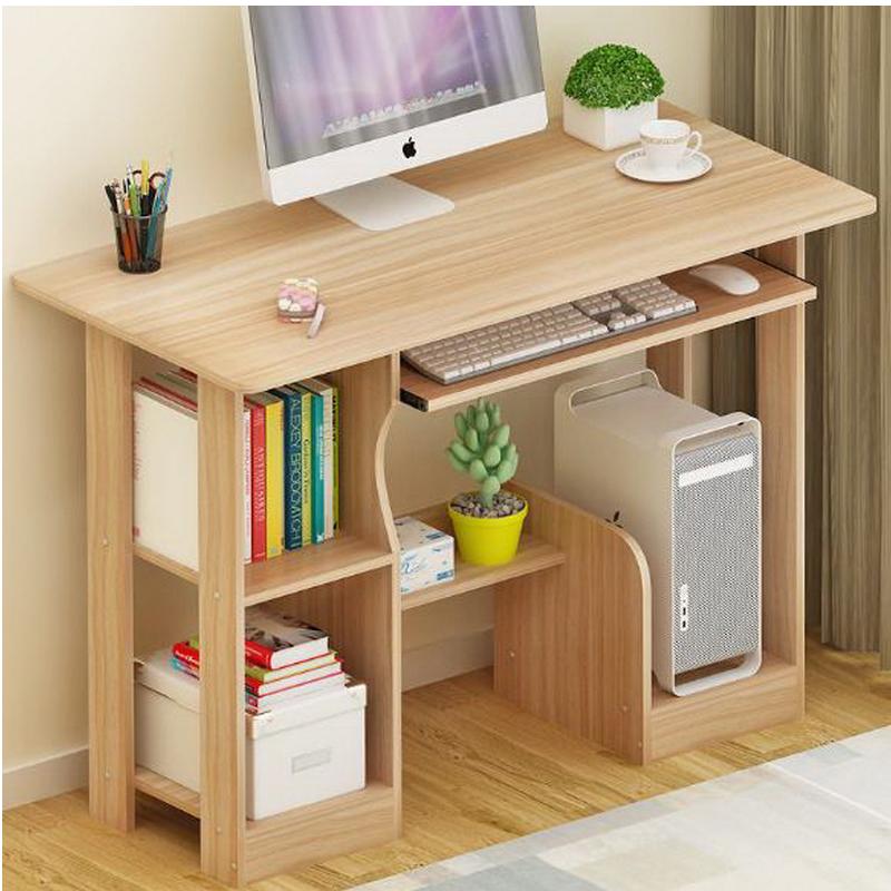 sencilla estantera combinacin de de la computadora estilo sencillo y moderno