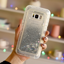 Luxury Quicksand 3 in 1 Hard Case For