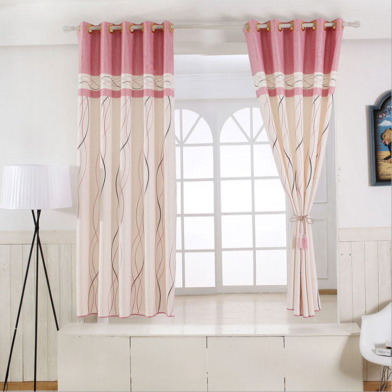 Us 23 9 1 Panel Short Curtains Window Decoration Modern Kitchen D Striped Pattern Children Bedroom Color Of 6 B16202 In