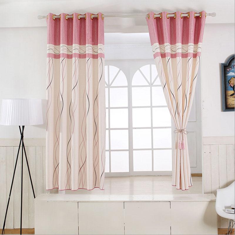 kitchen drapes dicer slicer us 23 9 1 panel short curtains window decoration modern striped pattern children bedroom color of 6 b16202 in