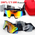 100 SpeedCraft Sunglasses Men Biking Sports Brand 100% Sunglass Glasses Goggles Eyewear Gafas Oculos Lente De Sol UV400 2017