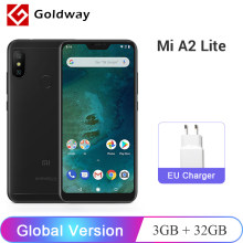 "Global Version Xiaomi Mi A2 Lite Mobile Phone 3GB RAM 32GB ROM Snapdragon 625 Octa Core Dual AI Camera 5.84"" 19:9 Full Screen(Hong Kong,China)"