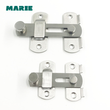 цены DG005 Anti-theft deduction thick door Stainless steel#304 security chain hotel home door bolt lock household hardware part