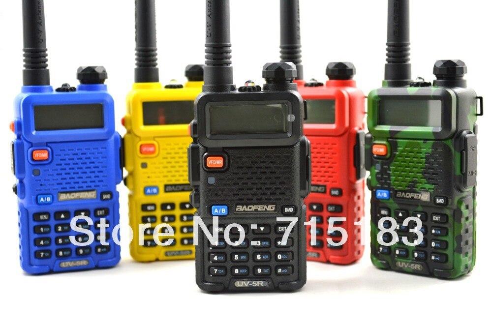 2pcs lot Portable BAOFENG UV 5R font b Walkie b font font b Talkie b font