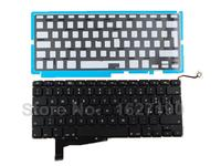 IT Italian Keyboard For APPLE Macbook Pro A1286 BLACK 2008 With Backlit Board New Laptop Keyboards