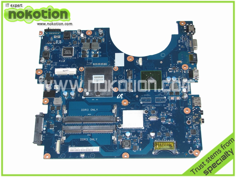 все цены на  NOKOTION BA92-06129A BA92-06129B for Samsung R580 Intel Laptop Motherboard INTEL HM55 graphics 512m Mainboard high quality  онлайн