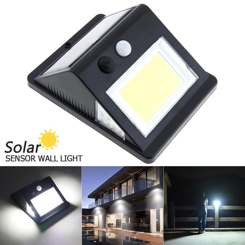 40COB Solar Lamp Light Human Body Motion sensor Night Sensor Street Waterproof IP55 Wall 6 for Outdoor Garden