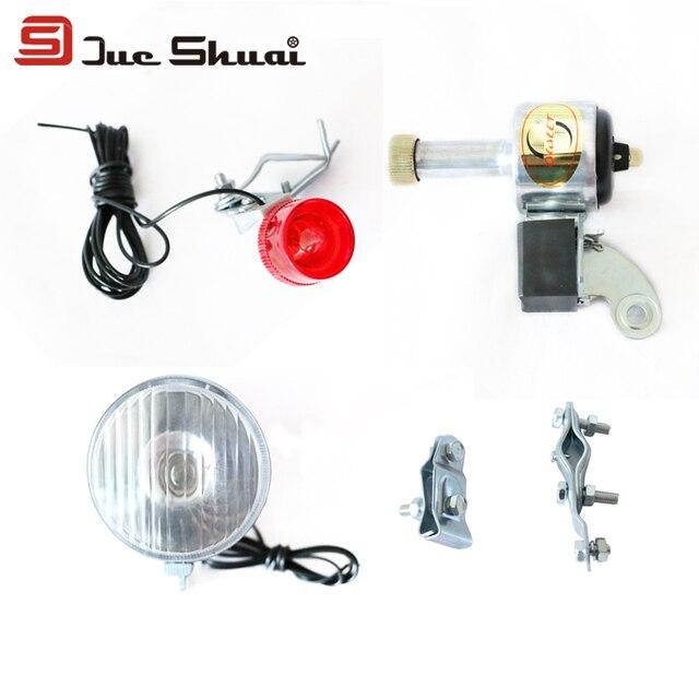 Hoge Standaard LED dynamo Zaklamp Bike Rear en Front Lights ...