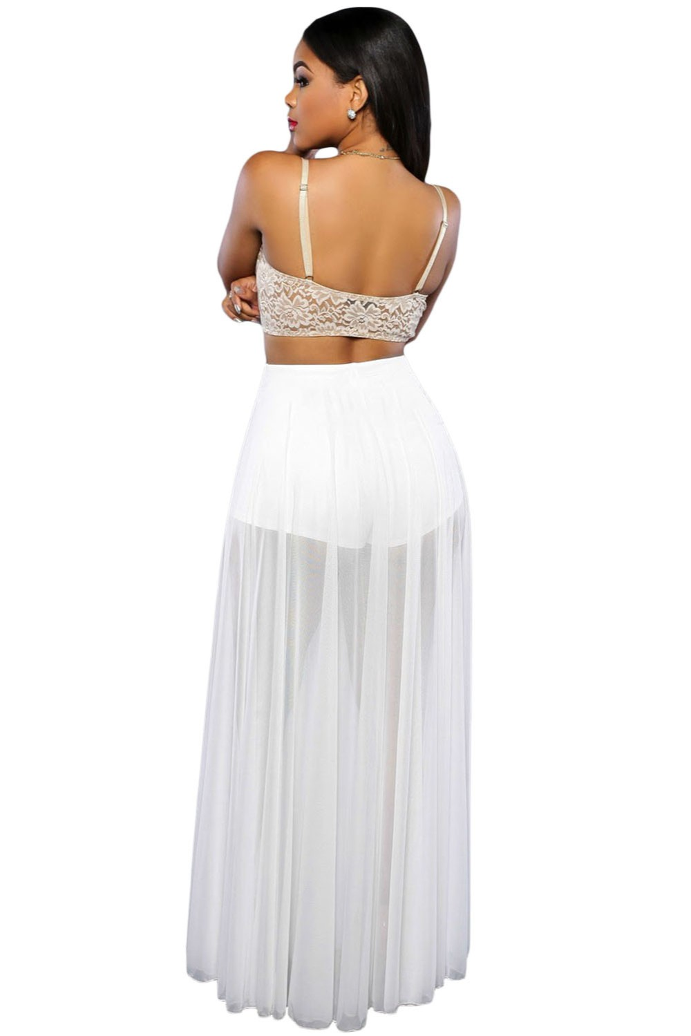 White-Sheer-Slit-Panty-Luxe-Maxi-Skirt-LC65000-1-2