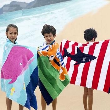 Große Strandtücher   Strand Handtuch Große Mikrofaser Gedruckt Verlängert Dicken Baumwolle Bad Handtücher Kinder Körper Schwimmen Abdeckung Weichen Handtuch Für Kinder Jungen