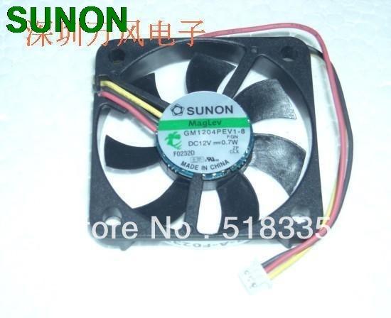 Original SUNON GM1204PEV1-8 4007 4CM 40*40*7MM 4CM 4*4*0.7CM mute thiness fan only 0.7mm micro inverter server pc case fan sunon 3006 30mm 3cm kde0503pev3 8 5v 0 35w 0 07a silent quiet server inverter hdd coolinig fan