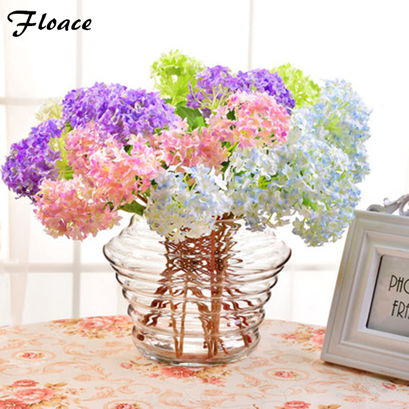 Floace Artificial Flowers Hydrangea flowers 7 colors Home decorations for wedding party photography