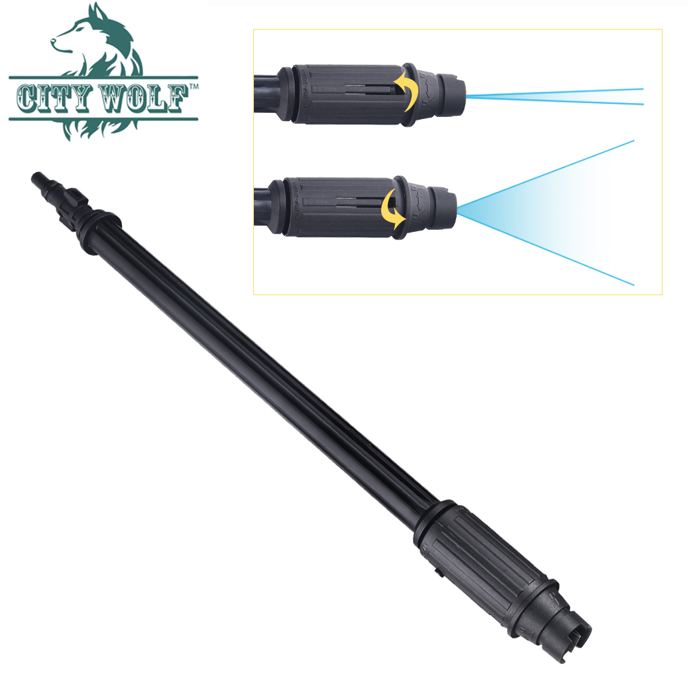 City Wolf High Pressure Washer Water Gun Lance Vaiable Nozzle For Lavor Sterwin Huter Karcher Car Washer Wall Floor Cleaning