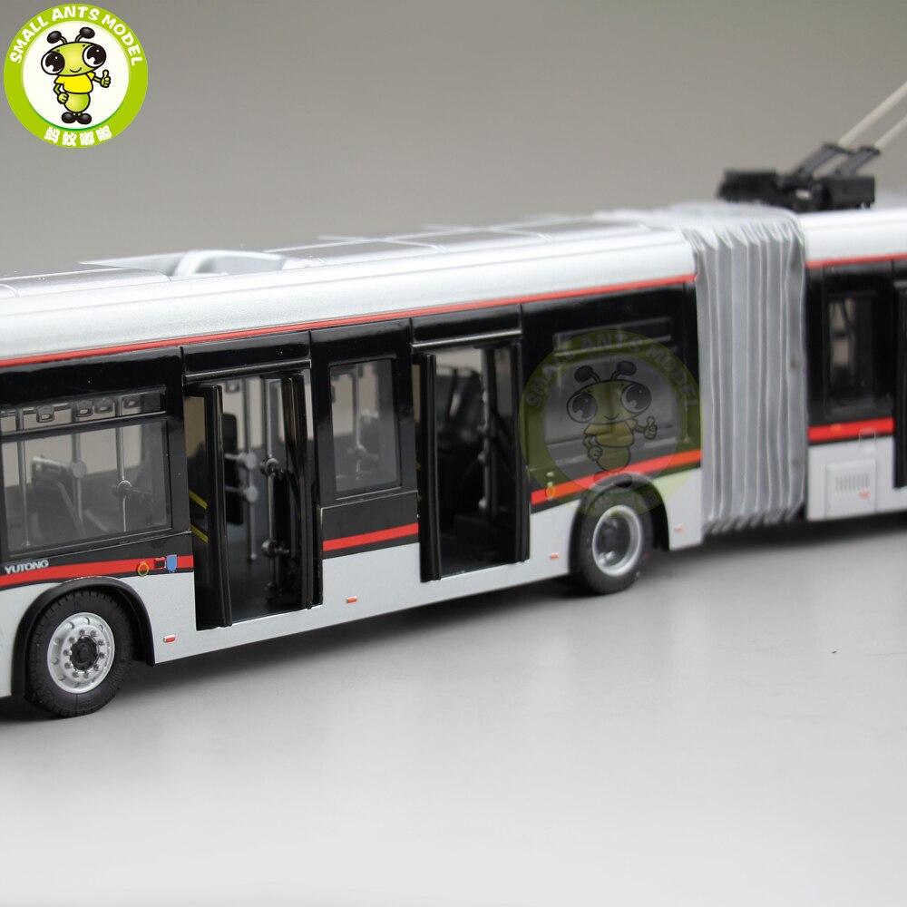 1/42 YuTong Bus ZK5180A Stadt Bus Trolleybus Gelenk bus Diecast Bus Modell Geschenk Sammlung Hobby-in Diecasts & Spielzeug Fahrzeuge aus Spielzeug und Hobbys bei  Gruppe 3