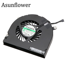Asunflower For MacBook Pro 17 A1297 2009 2010 2011 Fan Set Left+Right CPU Cooling MG45070V1-Q021-S9A MG45070V1-Q010-S99