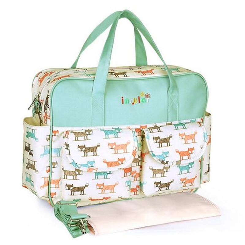 HTB17usELMHqK1RjSZFgq6y7JXXag Mummy Maternity Nappy Bag Stroller bolsa Large Capacity Baby Travel Backpack Mommy Nursing Bag Baby Care Changing Diaper Bag