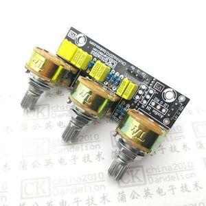 Image 1 - Placa de Control pasiva para amplificador de tono, Control de volumen de agudos de graves, preamplificador, Kits DIY, ajuste de potenciómetro HIFI entusiasta