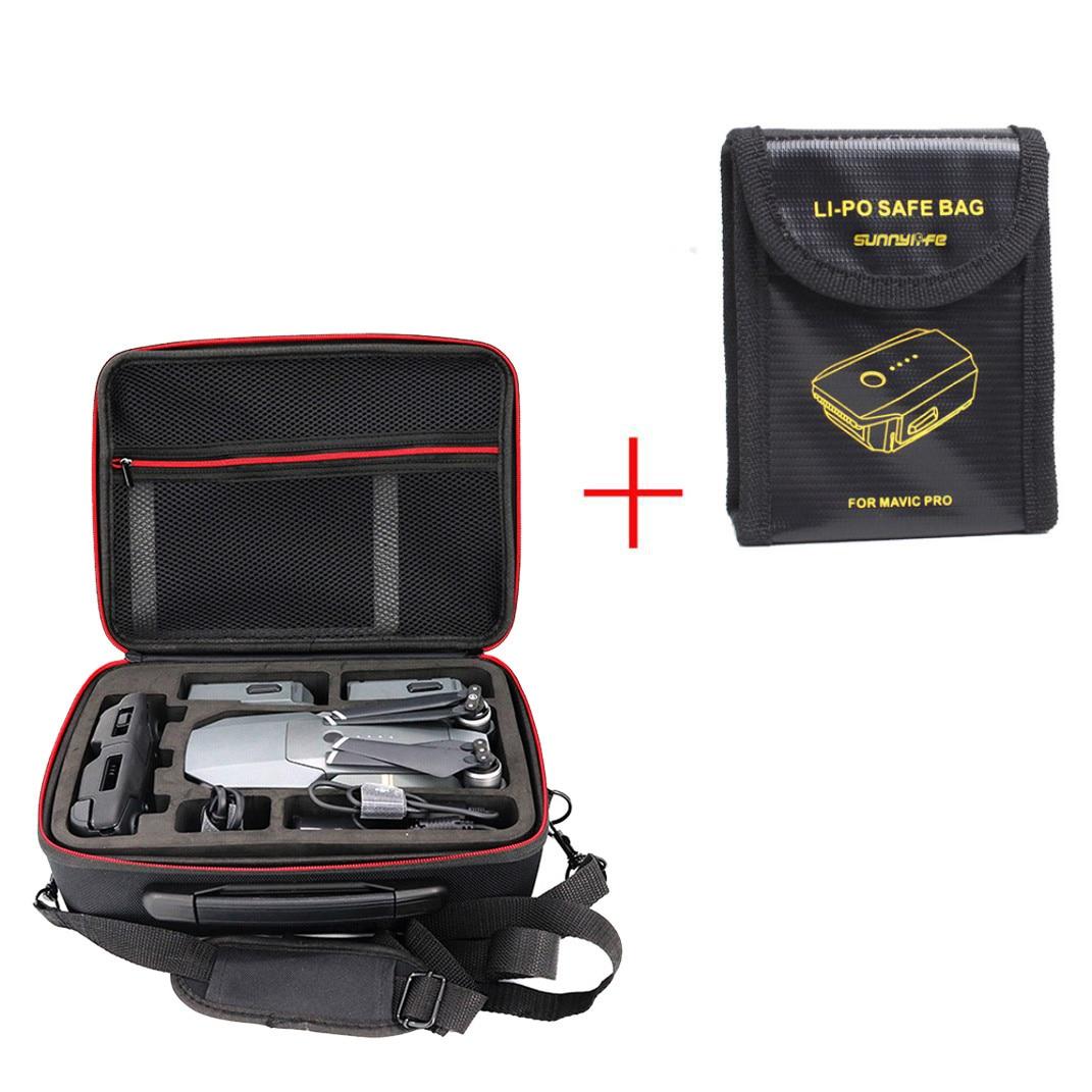 Sac à bandoulière HIPERDEAL pour Dji Spark étui à bandoulière étanche + protection de batterie Lipo pour DJI MAvic PRO