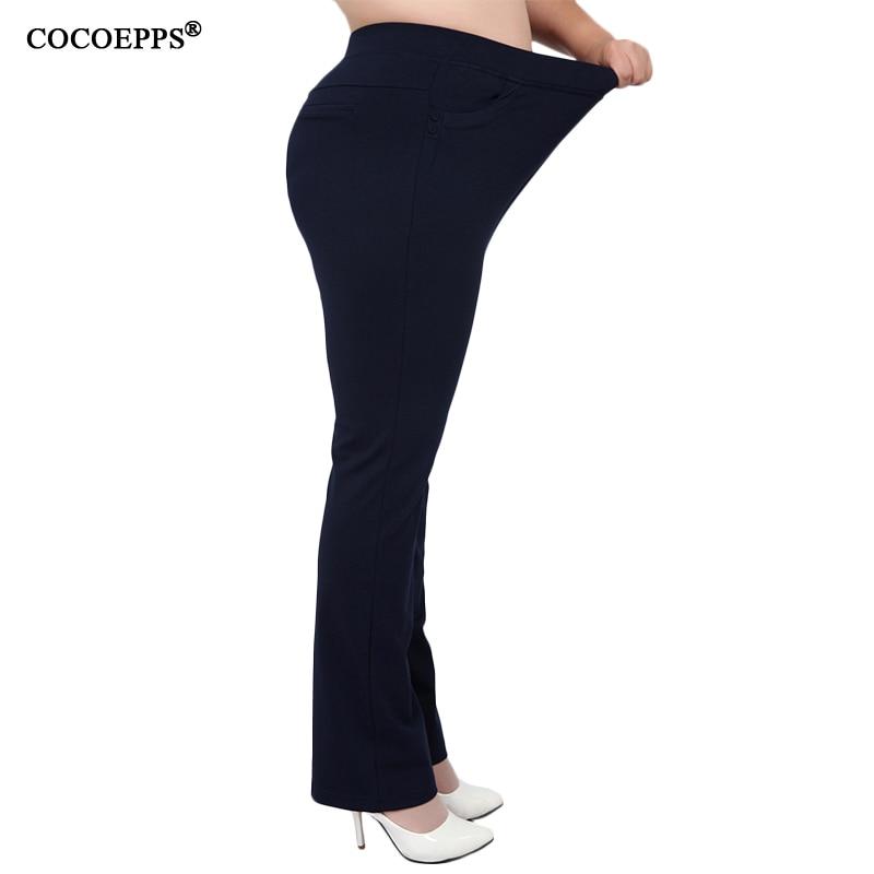 Pantalon Large femme classique pantalon grande taille leggings pantalon pour femme grande taille taille haute chaud noir pantalon femme vêtements