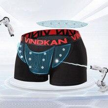 Calzoncillos bóxer de terapia magnética para hombre, ropa interior, transpirable, informal, 3 unidades