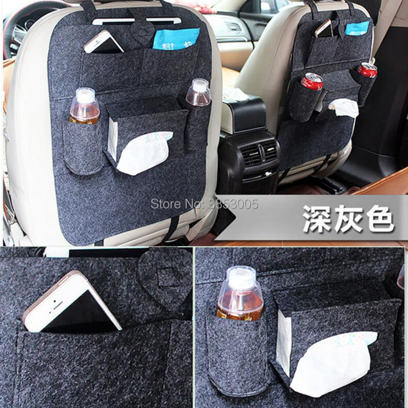 Car Seat Cover Organizer Holder Seat Back Storage Bag FOR SAAB 9-3 9-5 93 95 900 Land Rover v8 discovery 4 2 3 x8 freelander 1 2