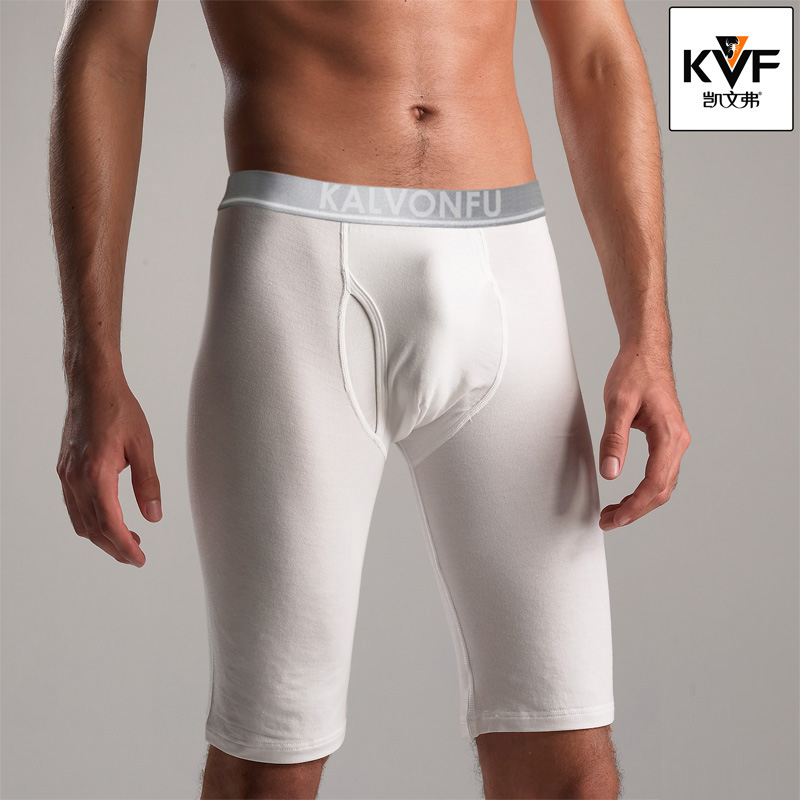 New Arrival Men/'s Fashion Underpants Tight Knee Length Long Boxers Underwears