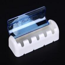 5 стеллажей пылезащитный держатель для зубных щеток для ванной кухни семейный держатель для зубных щеток s всасывающий держатель настенная подставка крюк