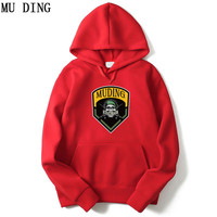 MU DING 2017 New Winter Hoodies Men S Clothing Men Skateboard Pullover Fashion AC DC Band